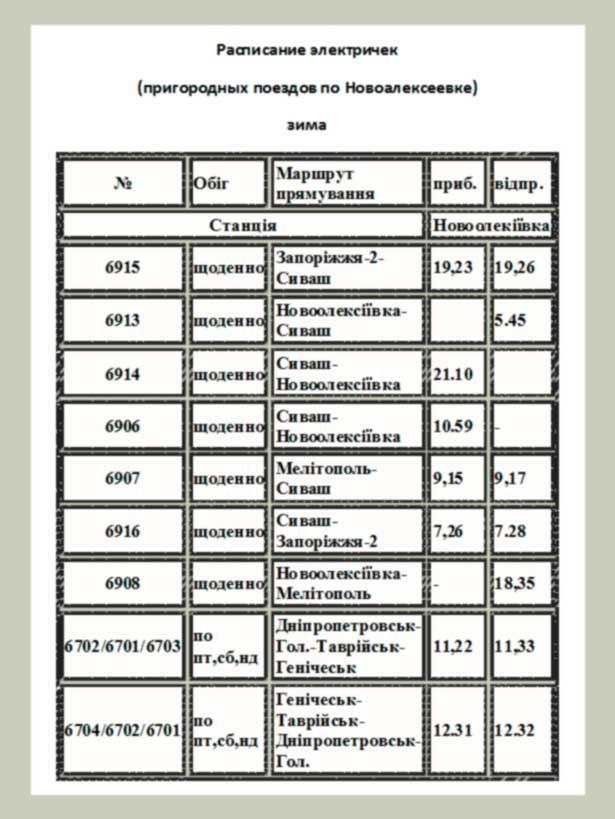 Железнодорожные кассы расписаниепригородных поездов новосибирской области