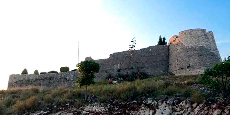 Замок Лекурес Саранда.